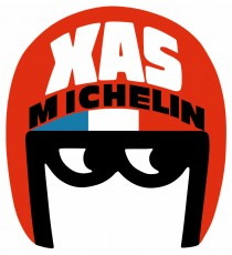 Stickers Michelin XAS Vintage