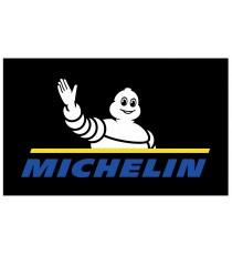 Stickers Michelin sur fond noir