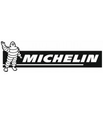 Stickers Michelin bandeau noir
