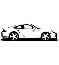 Stickers Porsche voiture