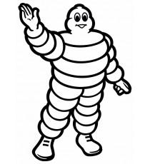 Stickers Michelin logo seul