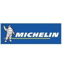 Stickers Michelin bandeau bleu