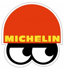 Stickers Michelin vintage bibendum