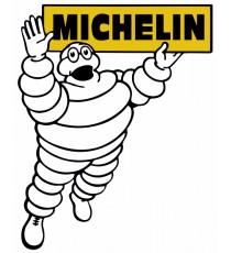 Stickers Michelin bibendum vintage
