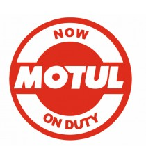 Stickers Motul Now On duty