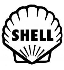 Stickers Shell noir et blanc
