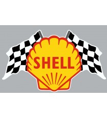 Stickers Shell damier