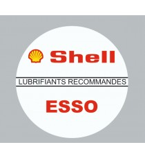 Stickers Shell Esso