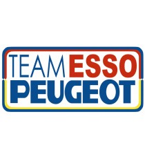 Sticker team Esso Peugeot