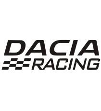Sticker Dacia logo Racing