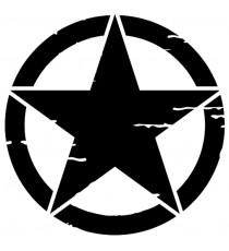 Jeep étoile noir ou blanc