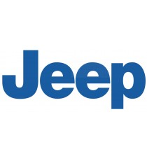 Sticker Jeep bleu