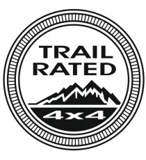 Sticker Jeep trail 4X4
