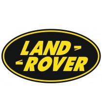 Sticker Land Rover vert