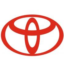 sticker Toyota rouge