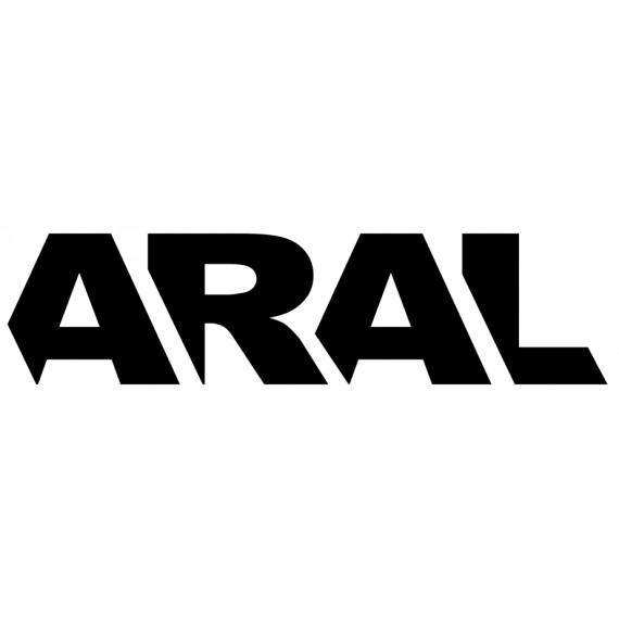 Sticker Aral bleu
