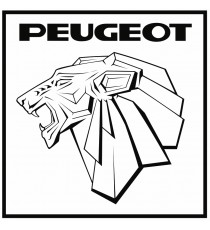 Stickers Peugeot vintage ecusson