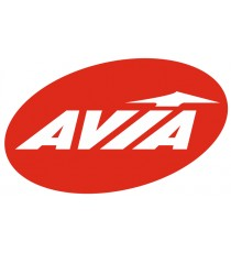 Stickers Avia rouge