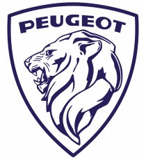 Stickers Peugeot ecusson