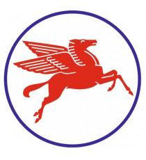 Stickers Exxon cheval