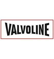 Stickers Valvoline motor oil