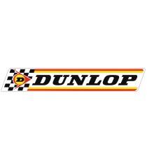 Stickers Dunlop blanc