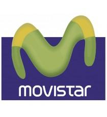 Sticker Movistar blanc