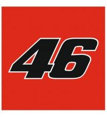 Sticker Valentino Rossi 46