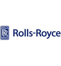 Sticker Rolls Royce blanc