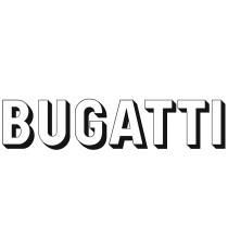 Sticker Bugatti ovale
