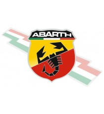 Stickers Abarth blason frise italie