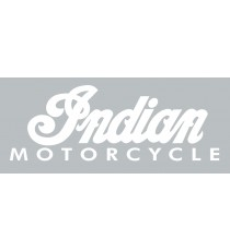 Sticker indian motorcycle (blanc)