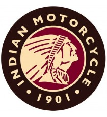 Sticker indian motorcycle vintage