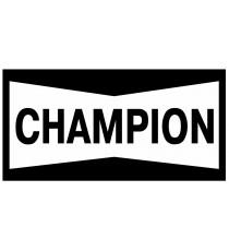 Stickers Champion (rouge et noir)