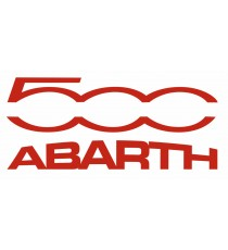Stickers Abarth Fiat 500