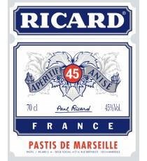 Sticker Ricard design