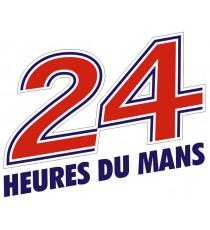 Sticker 24 Heures du Mans vintage