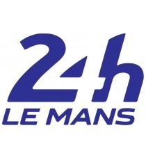 Sticker 24 Heures du Mans couleurs