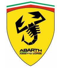 Stickers Abarth blason italie