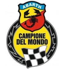 Stickers Abarth Champion du monde