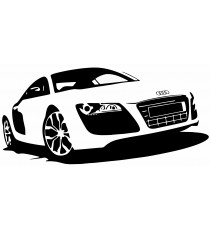 Stickers voiture Audi