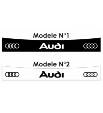 Stickers pare soleil Audi