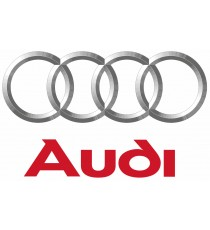 Stickers Audi ecusson