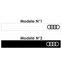 Stickers bande Audi