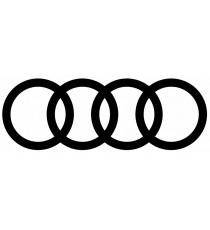 Stickers Audi (logo noire)
