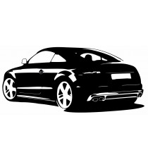 Sticker Audi voiture TT