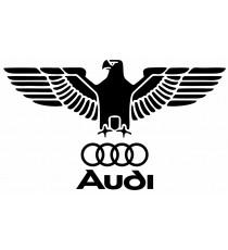 Stickers Audi Vintage Aigle