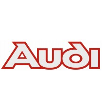 Stickers Audi (blanc et rouge)