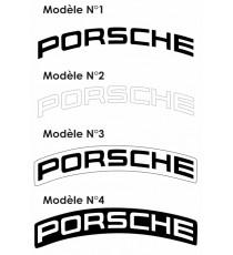 Stickers Porsche etrier de frein