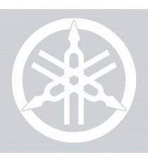 Stickers Yamaha logo blanc
